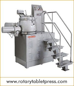 Rapid Mixer Granulator in India, manufacturer, supplier